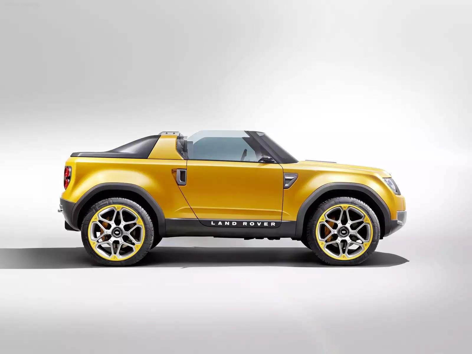 Hình ảnh xe ô tô Land Rover DC100 Sport Concept 2011 & nội ngoại thất