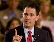 Walker is the real deal, and Wisconsin was there fighting a lonely fight .