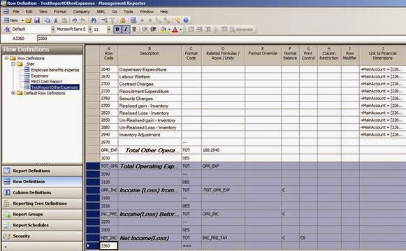 how to create reports in ax 2012