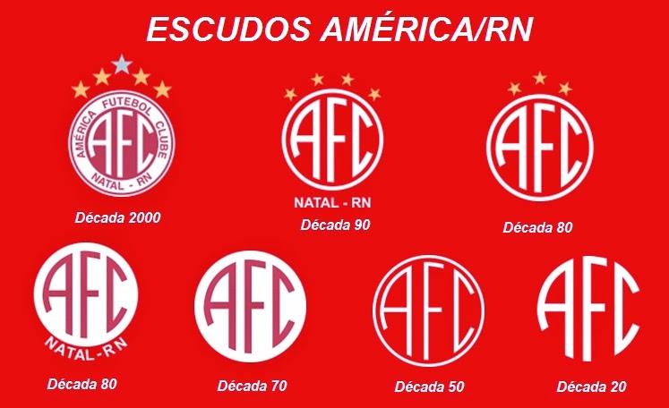 Todos os escudos do América/RN