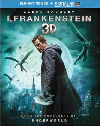 I Frankenstein on Blu-ray, starring Aaron Eckhart