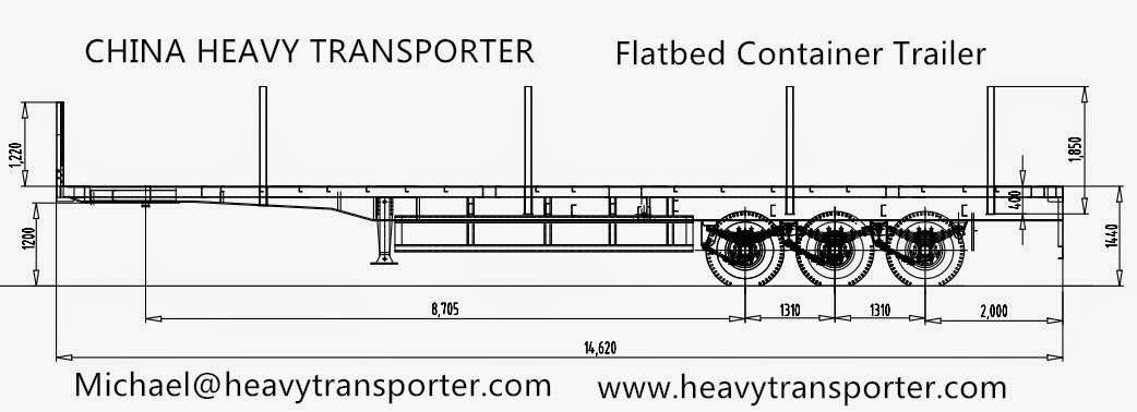 Image Gallery Semi Trailer Dimensions