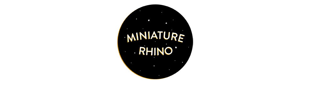 Miniature Rhino