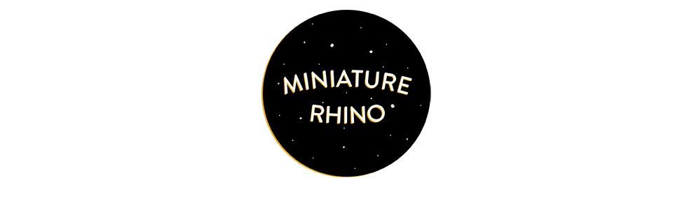 Miniature Rhino