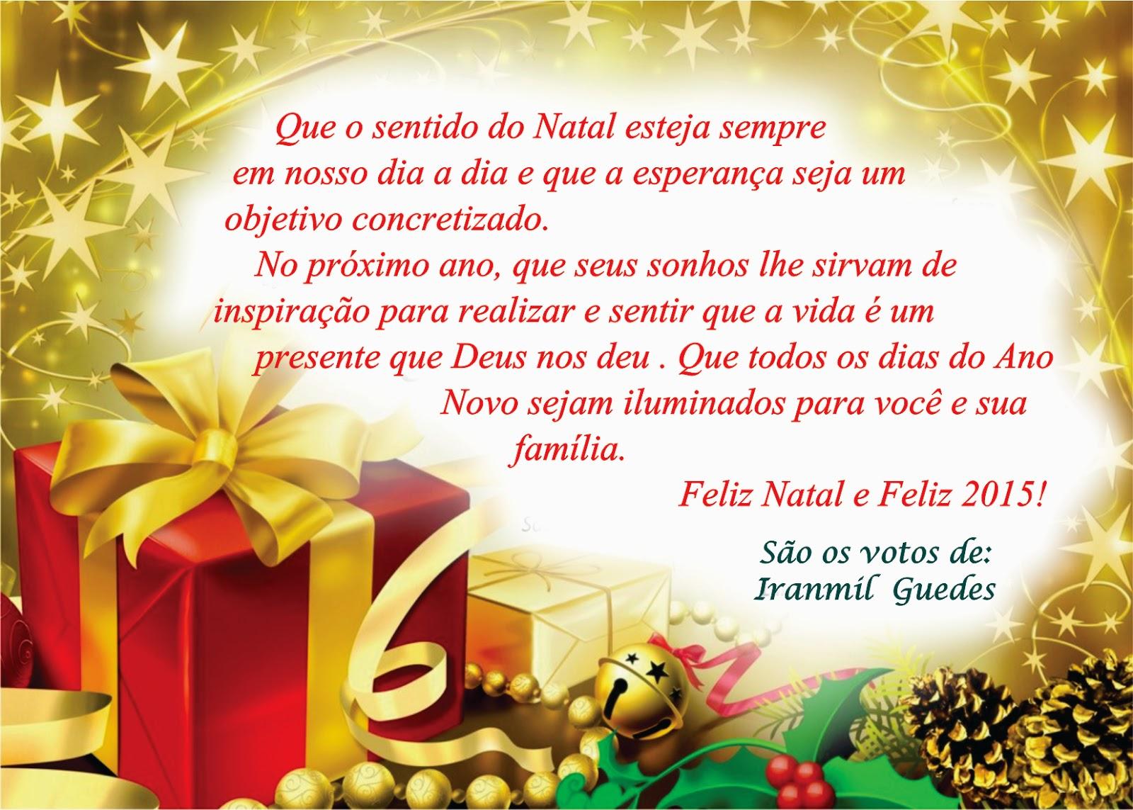Técnico Da V Ursap Iranmil Guedes Envia Cartão De Feliz Natal E