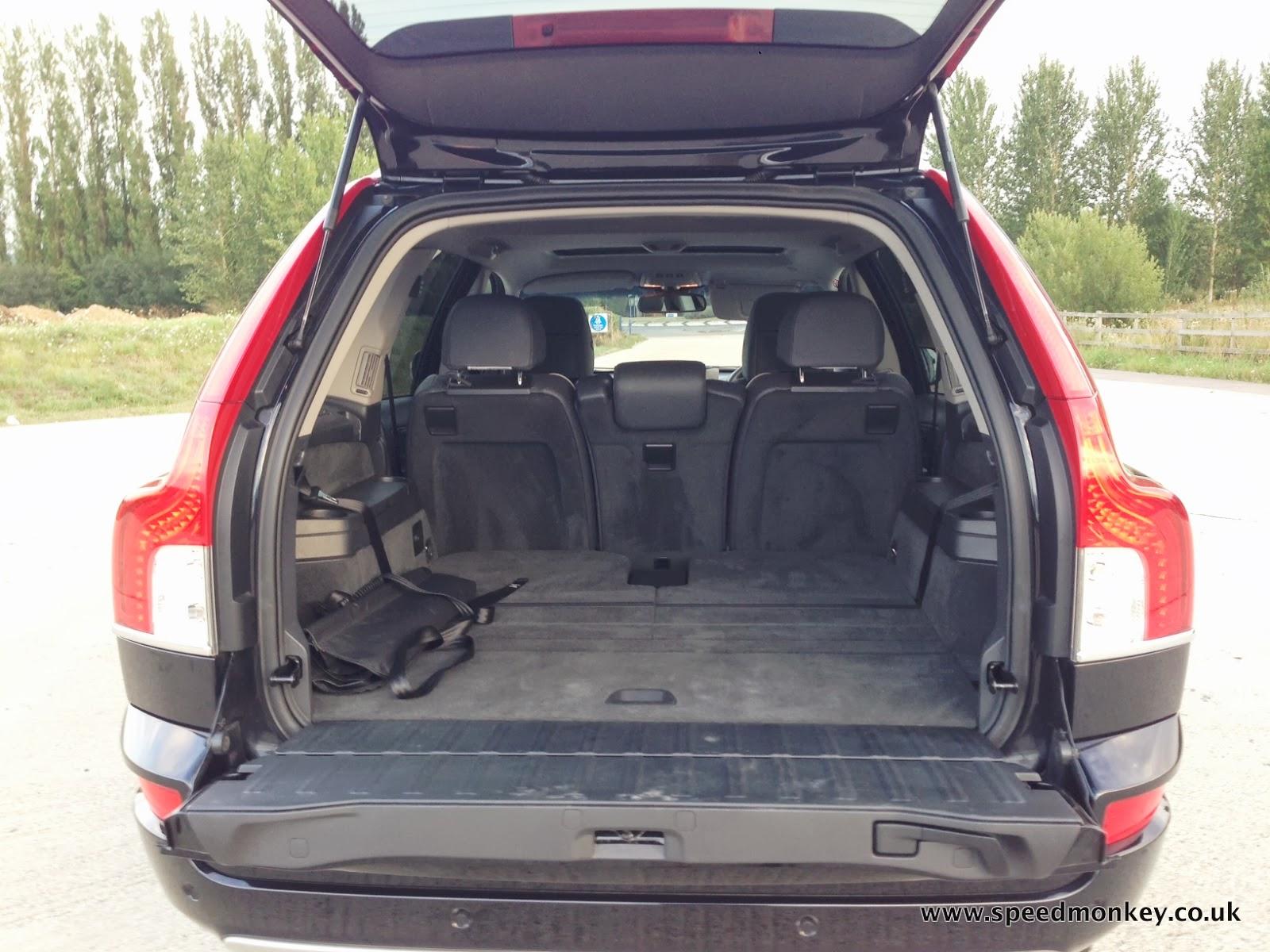 Volvo xc90 se lux trunk