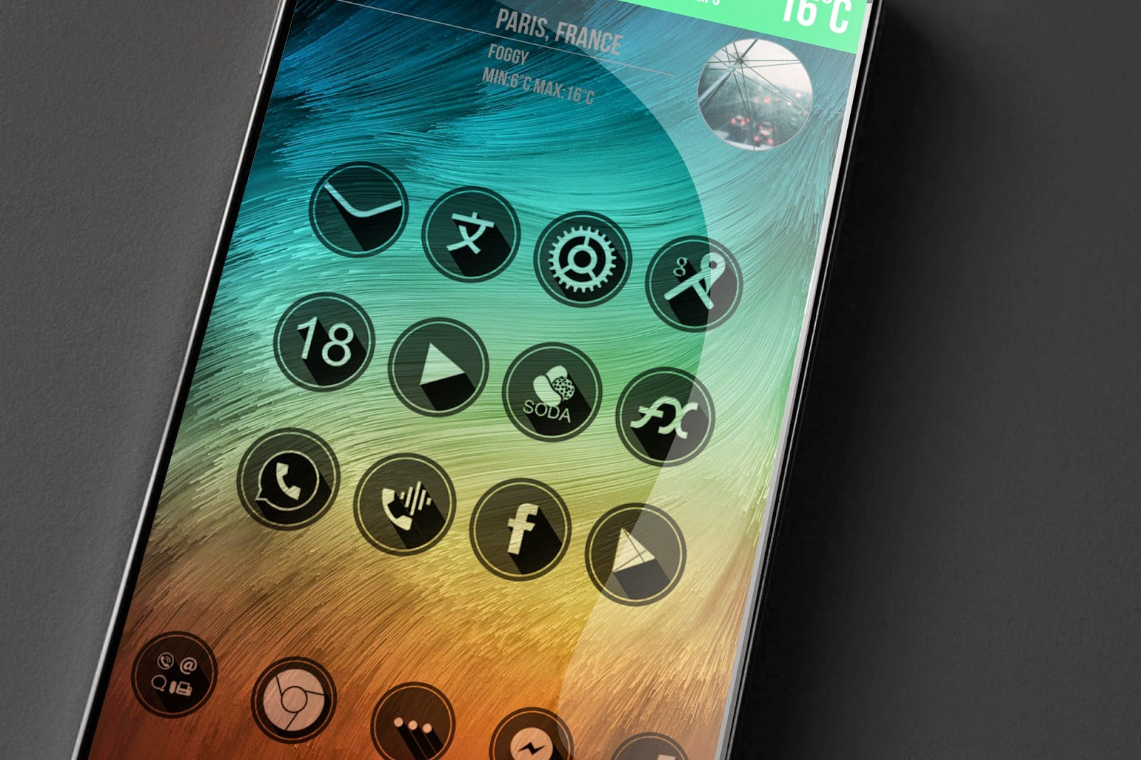 free go launcher icons