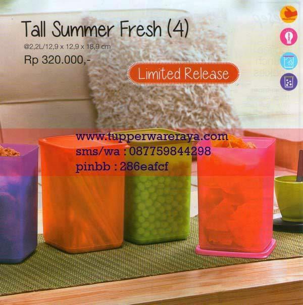 Katalog Tupperware Promo Januari 2015 Tall Summer Fresh