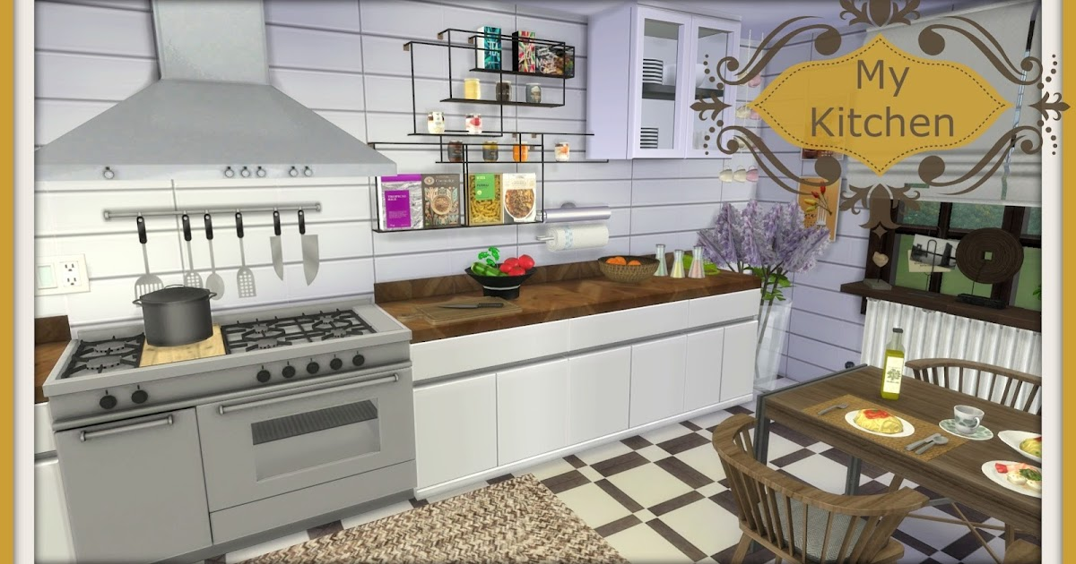 sims 4 my kitchen dinha