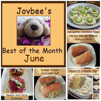 Best of the Month June 2015:  A recap of my most popular posts from last month (June 2015).