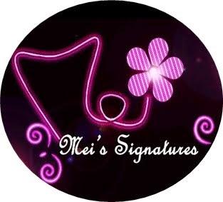MEIMEI'S SIGNATURES