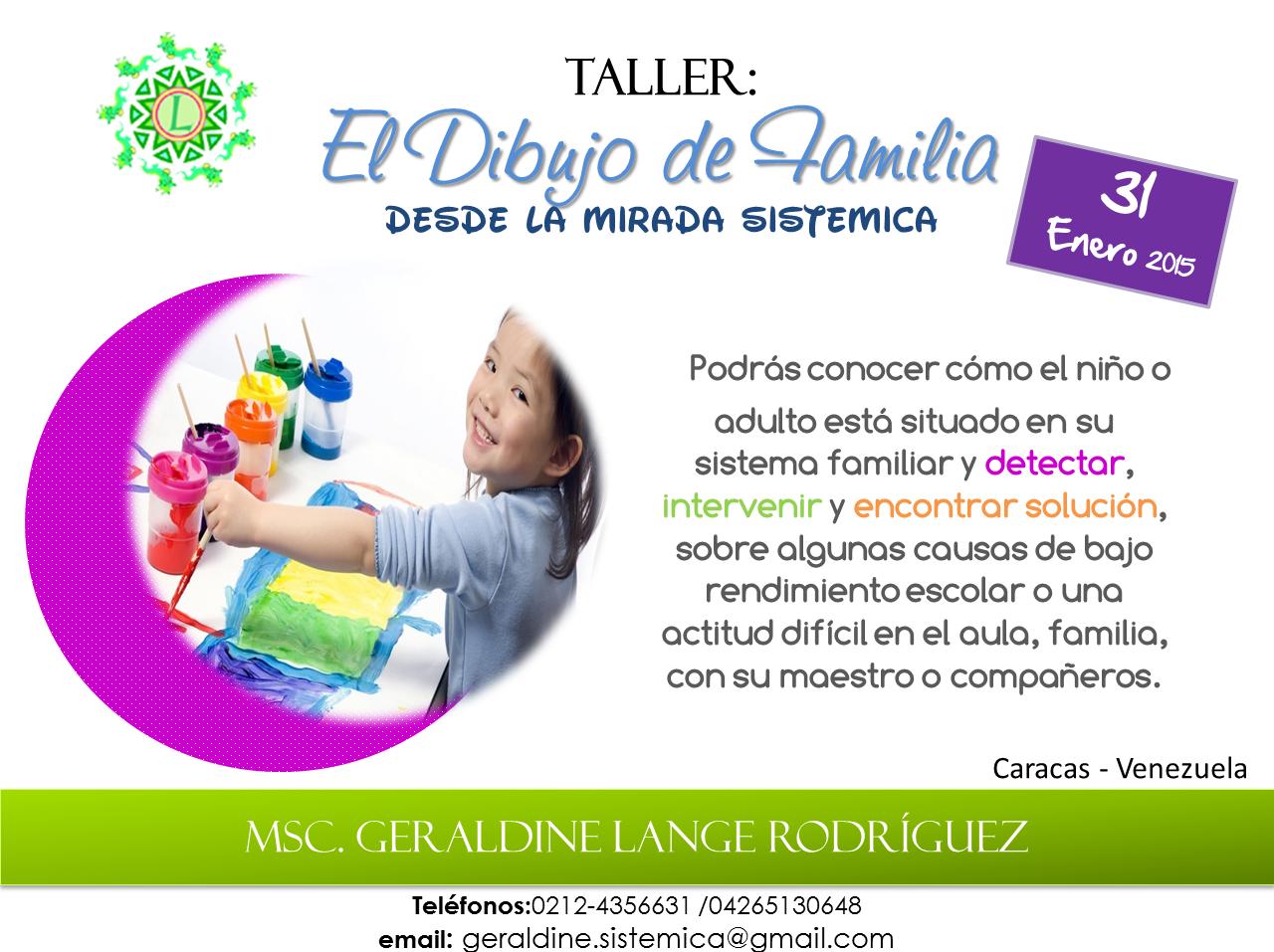Worksheet. Taller El Dibujo de Familia Herramienta Psico  Educativa Desde