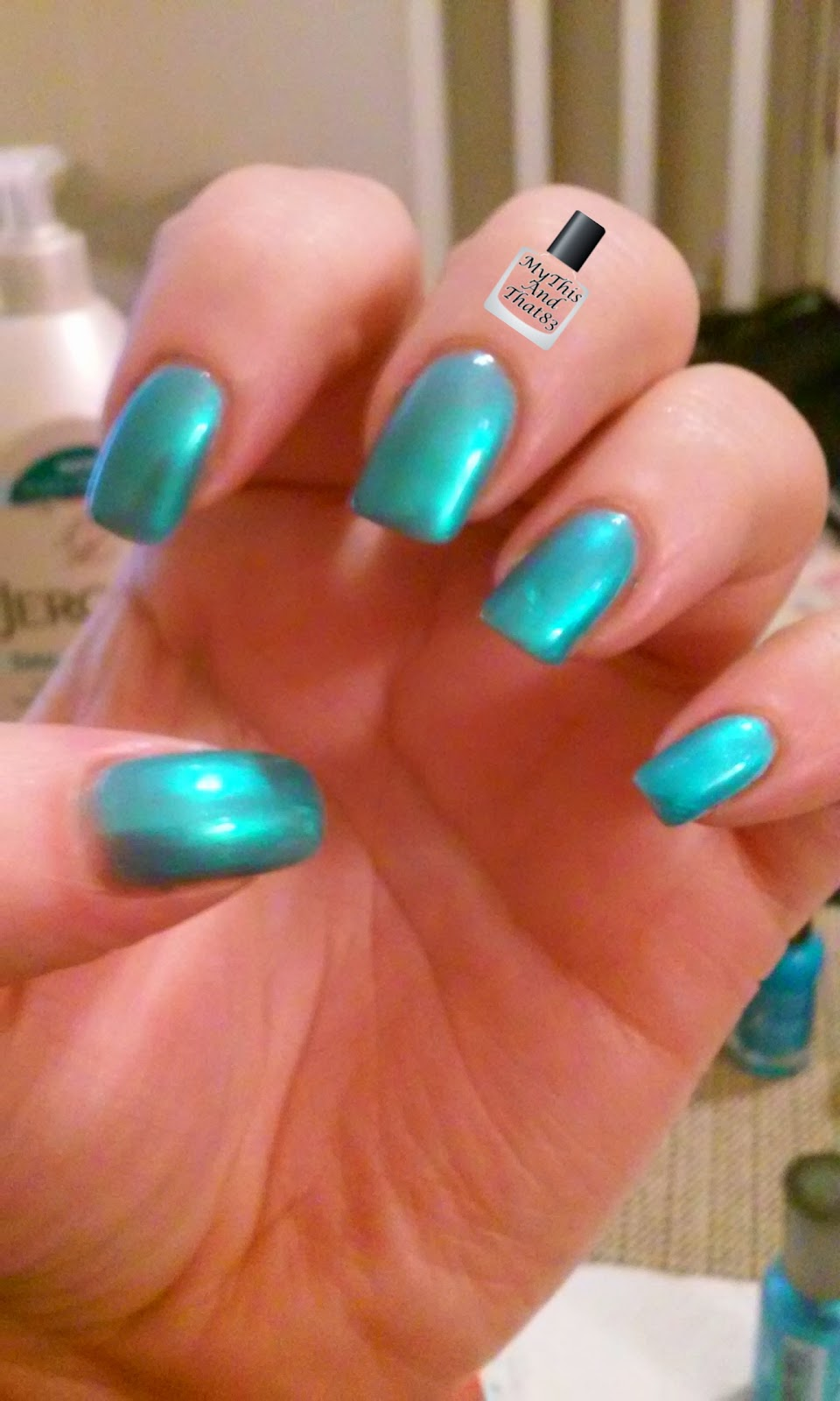 Sally Hansen 'Blizzard Blue'