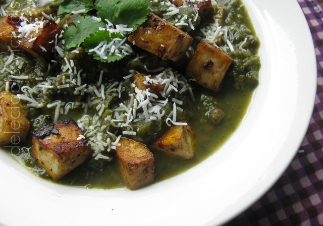 collard greens saag masiyal