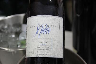Grande Année St. Pierre Vintage 1998. blog Esteban Capdevila