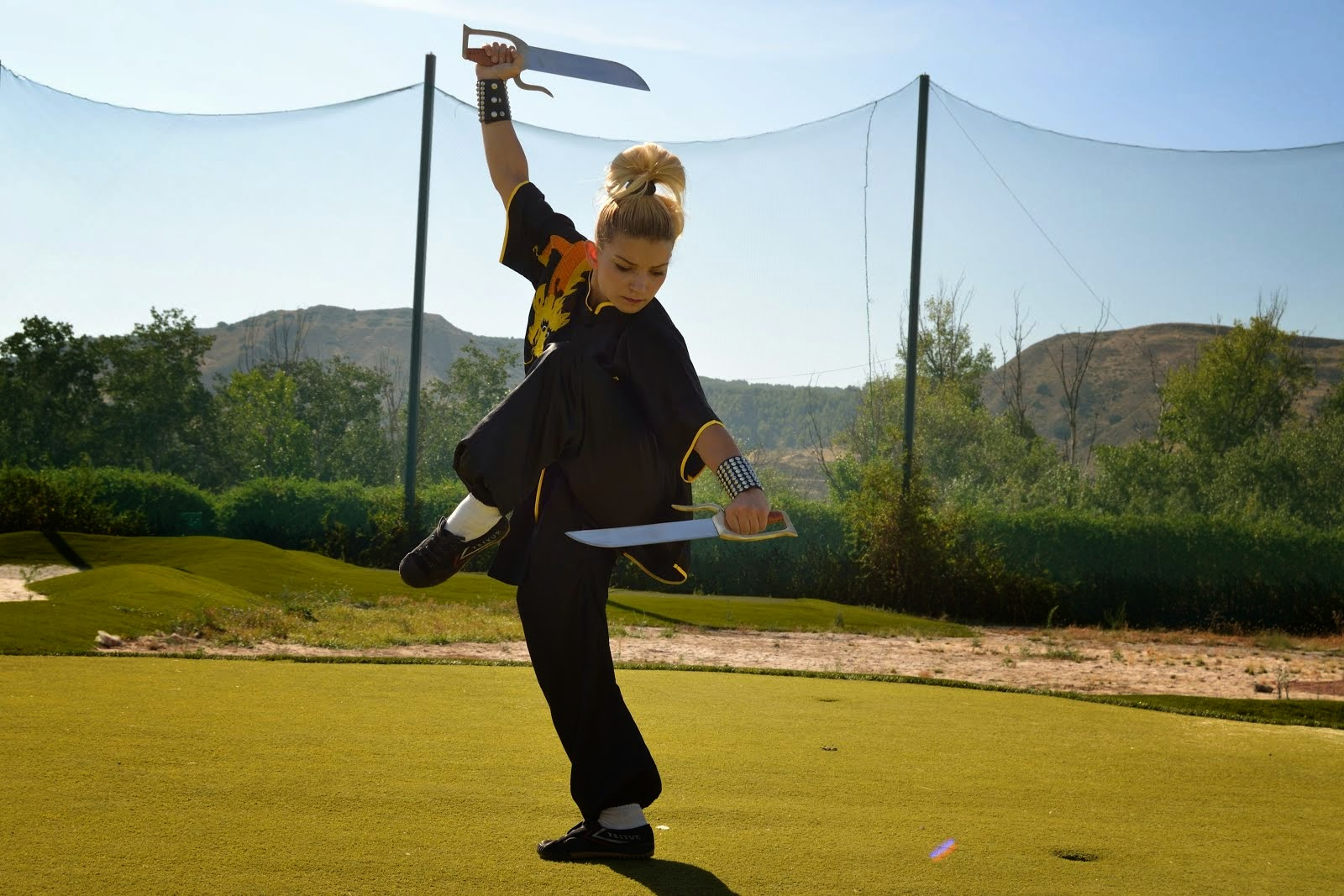 Cursos y Clases Kung Fu Infantil y Adultos - GrandMaster SENNA y Shifu Paty Lee.