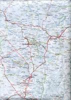 Карта автомобильных дорог Каппадокии