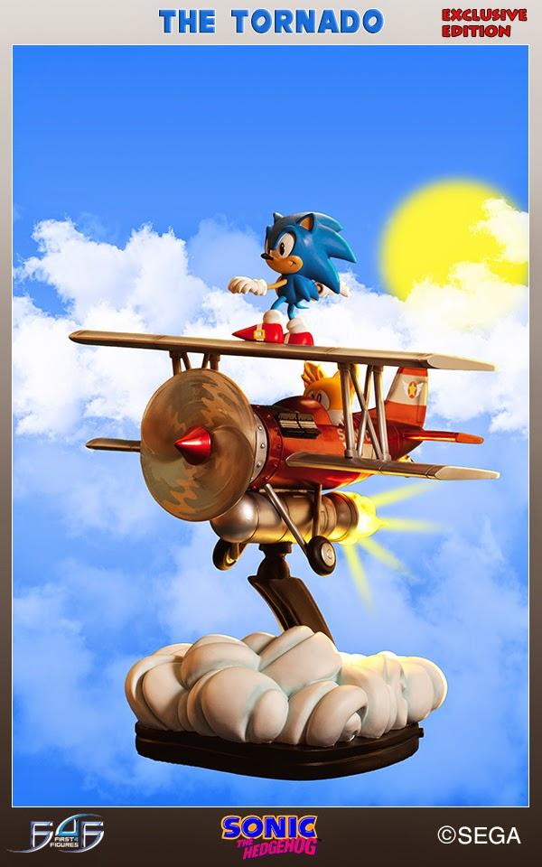 The Tornado il diorama di Sonic della First 4 Figures