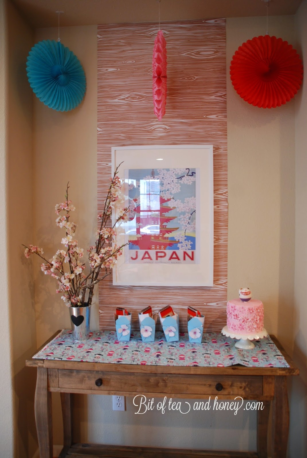 Bit of Tea Honey Kokeshi Birthday Party