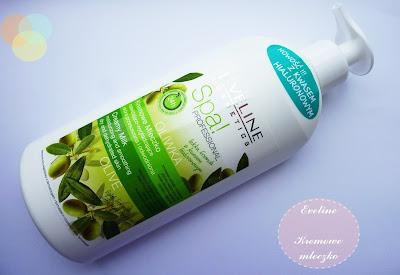 Eveline Cosmetics - Oliwka kremowe mleczko  nawilżająco-wygładzające - skóra przesuszona i odwodniona - SPA! Professional