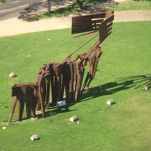 Monumento aos Açorianos, em Porto Alegre, RS