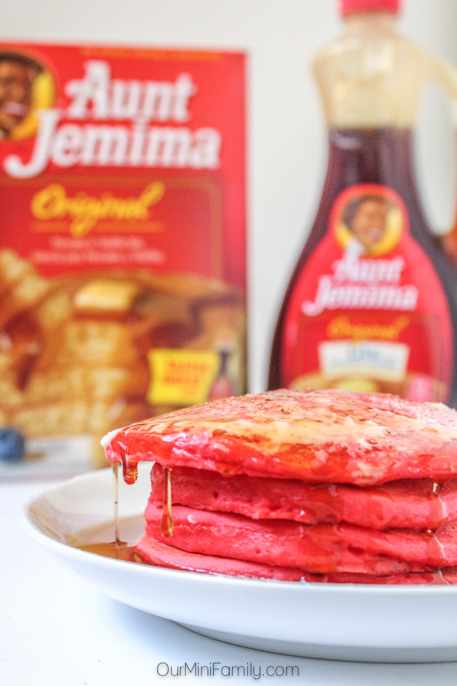 Red velvet pancakes recipe with cream cheese butter and cinnamon convenient and easy to make recipes are crucial during the holiday season using just a few ingredients including aunt jemima mix and syrup ccuart Gallery