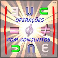 Representação de algumas operações. Interseção, união, igualdade, pertinência, inclusão.