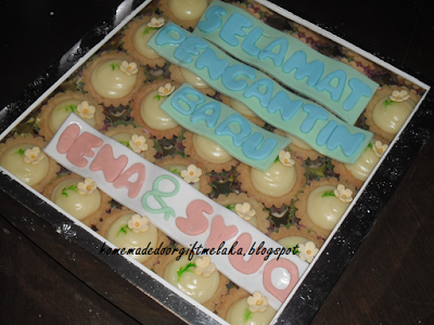 Cheese Tart Hantaran 25pcs in box