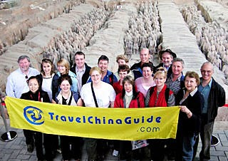 Our Group Tour to Terra-cotta Warriors