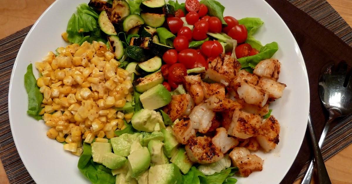 Cracked Pepper: Southwest Grilled Shrimp Salad