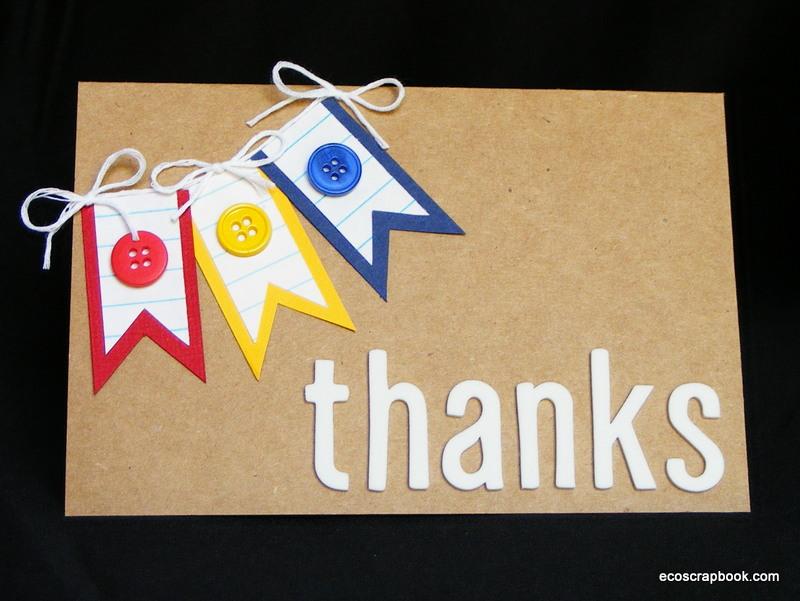 Card Making Ideas Thank You Part - 50: Tutorial: Teacher Thank You Card