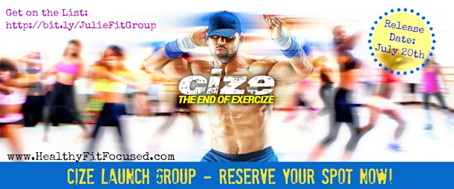 What is Cize?  Shaun T's newest dance program, Cize Launch Group, www.HealthyFitFocused.com
