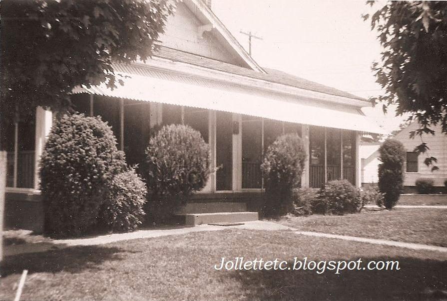 Home of Fred and Julia Slade 1950s Burlington, NC