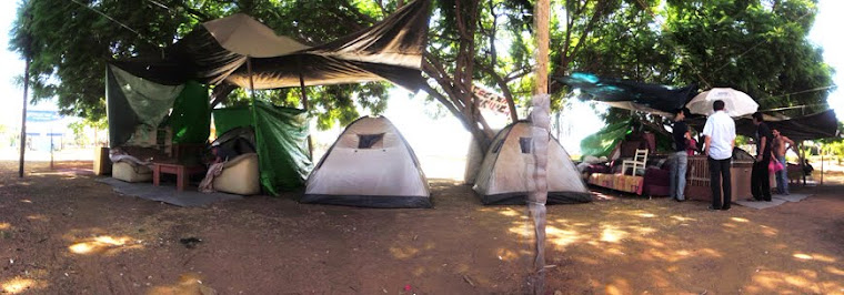 Site 03 the tents