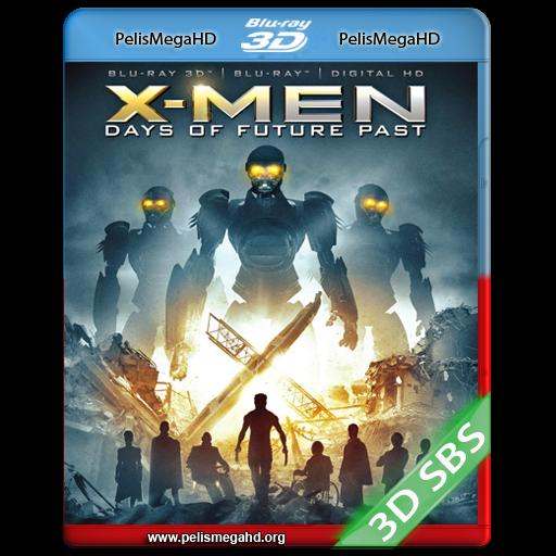 X-MEN: DÍAS DEL FUTURO PASADO (2014) FULL 3D SBS 1080P HD MKV ESPAÑOL LATINO