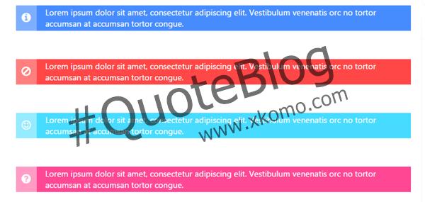 Tutorial menambahkan Kode Quote keren pada artikel blog