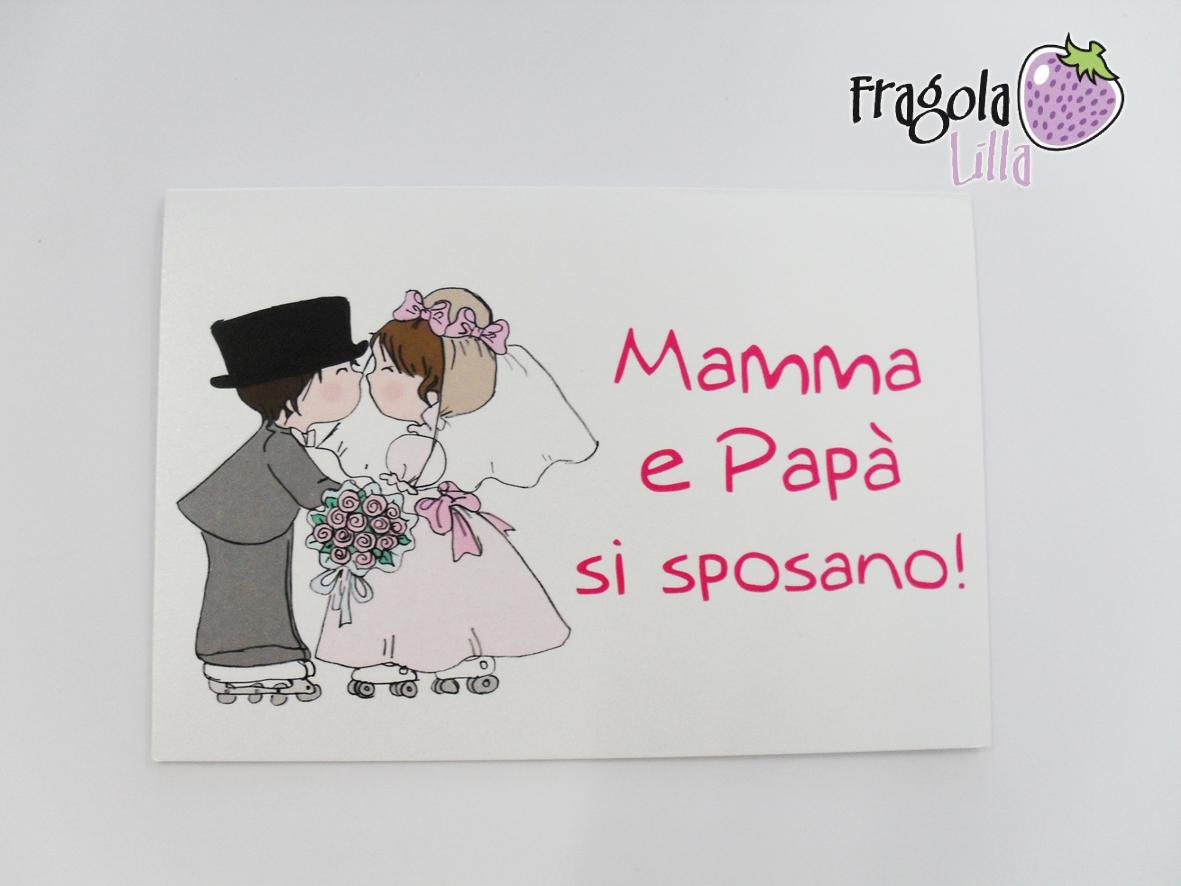 Partecipazioni di nozze con bambini migliore collezione for Disegni sposi stilizzati