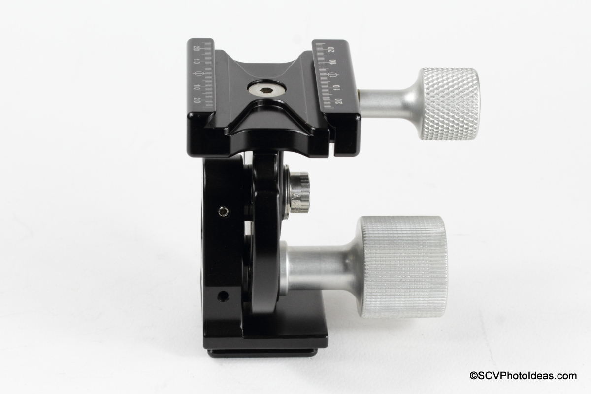 Hejnar Photo MHR1 Head tilt & lock mechanism L side