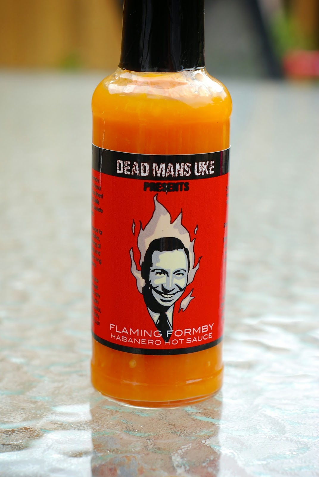 Flaming Formby Hot Sauce