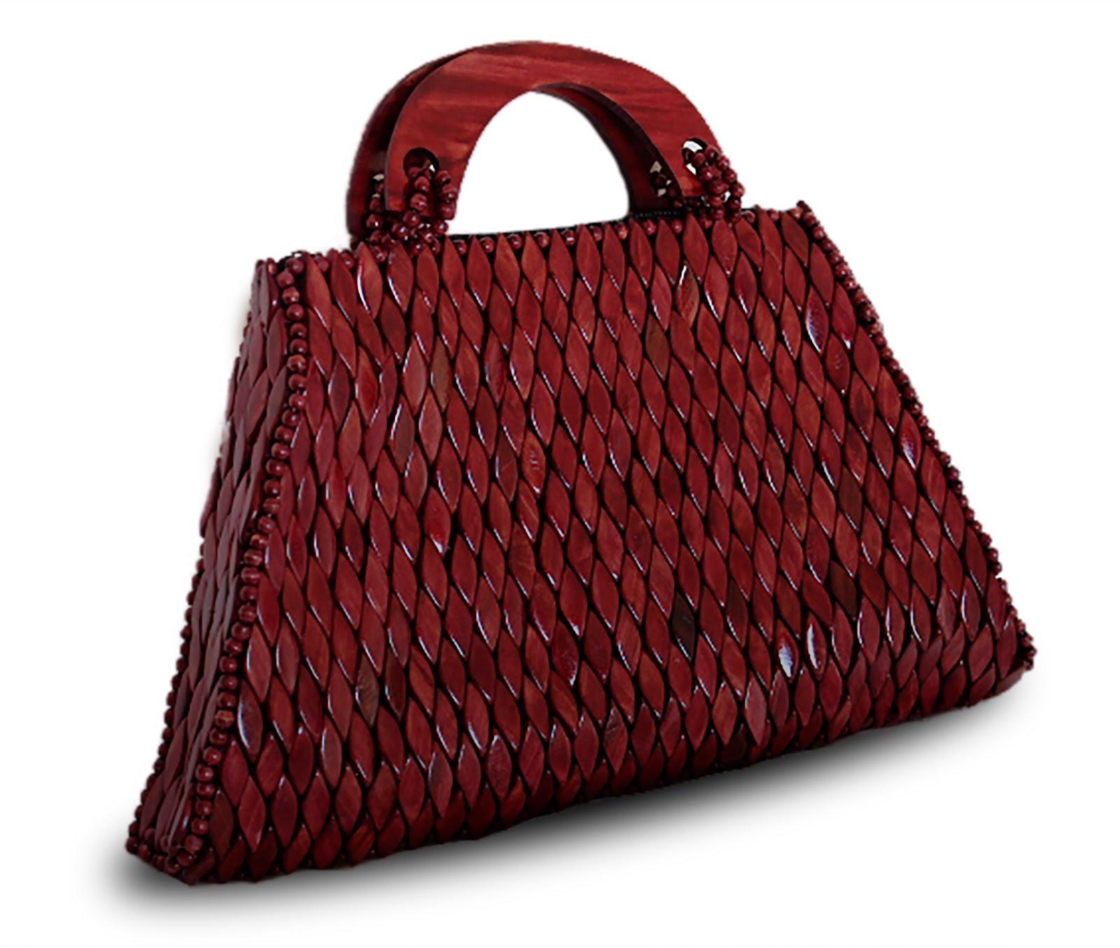 Handtaschen aus Holz - wooden hand bags