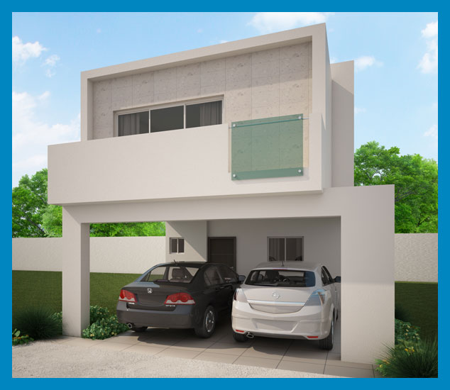 Fachadas minimalistas fachada minimalista modelo laurel for Acabados fachadas minimalistas