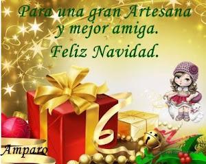 Gracias Amparo por tus deseos para mí.Feliz navidad para tí y que la magia te acompañe.Un abrazo