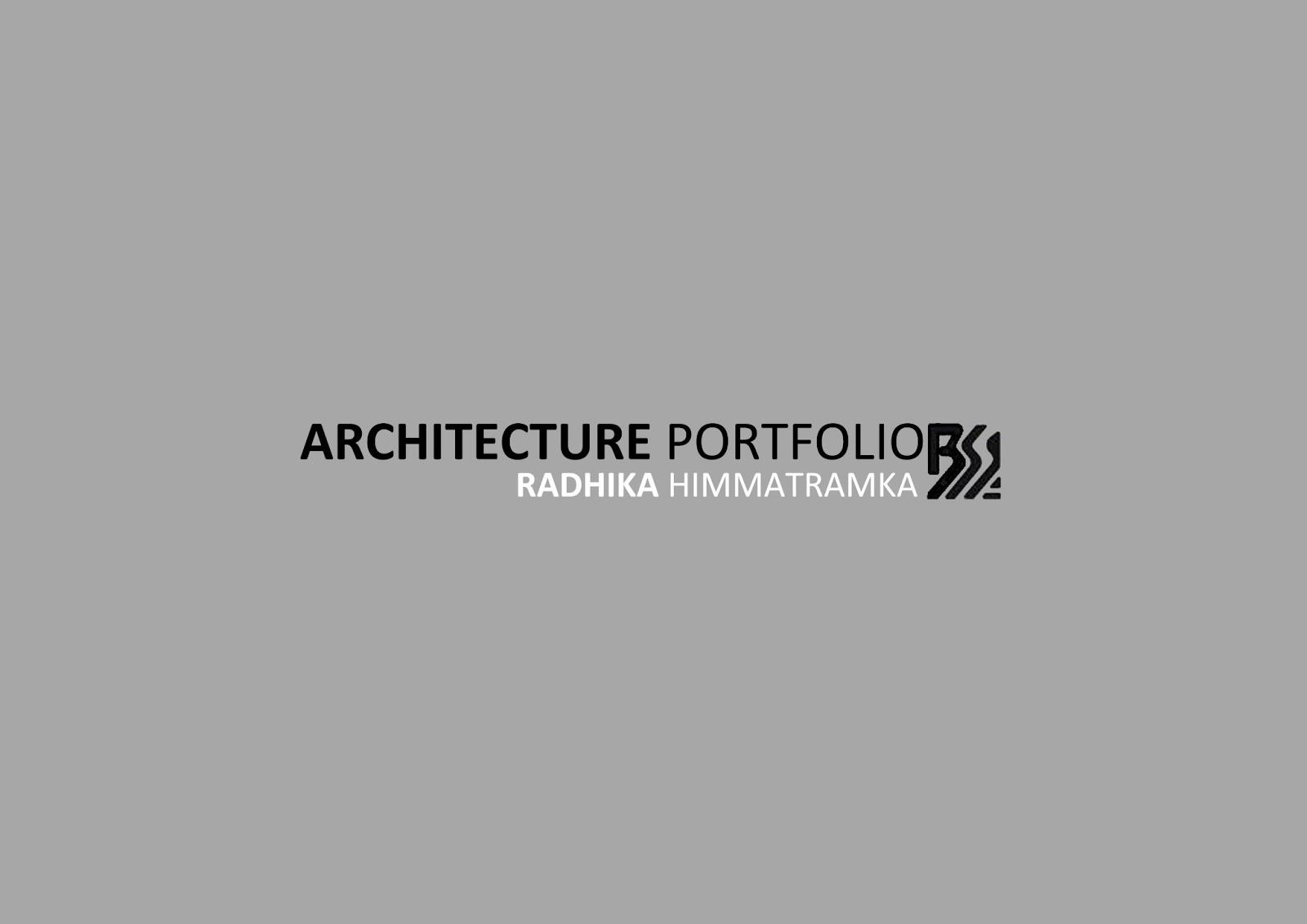 Architectural Portfolio Design Portfolio