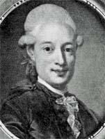 Gudmund Jöran Adlerbeth, Pastellgemälde von L. Pasch dem Jüngeren, 1780, Schwedisches Reichsarchiv