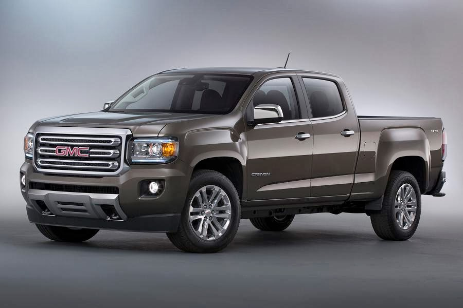 GMC Canyon SLT Crew Cab 4x4 (2015) Front Side