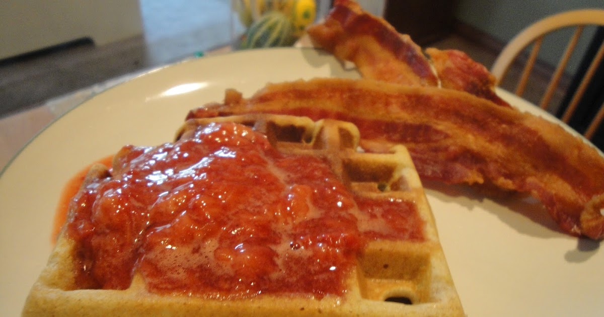 ... for Crohn's Disease: Coconut Flour Waffles and Strawberry Topping