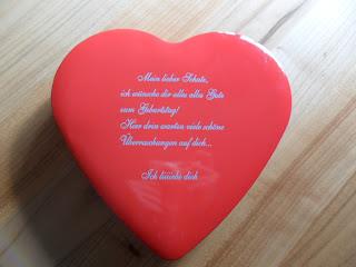 Test Geschenkideen Erfahrung Bewertung Liebesbox mit Losen
