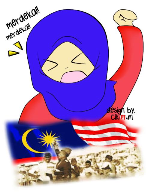 doodle, ucapan, selamat, hari, merdeka, malaysia, ke 56, salam, 1 malaysia,