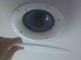 flush mount speaker install service