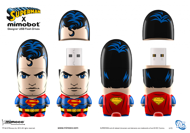 Superman DC Comics Mimobot by Mimoco